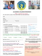 HELP Honduras Market Children Sponsor Form 2016